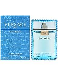 Versace Man Eau Fraiche By Gianni Versace For Men Edt Spray 3.4 Fl Oz