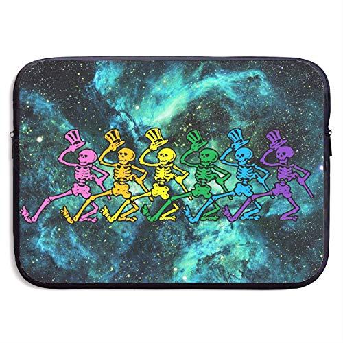 Dancing Skeleton Bears Clip Art Laptop Sleeve Case Bag Cover for Apple MacBook/Asus/Acer/Samsung/DELL/HP/Lenovo/Sony/RCA Computer 15 - Clipart Bears