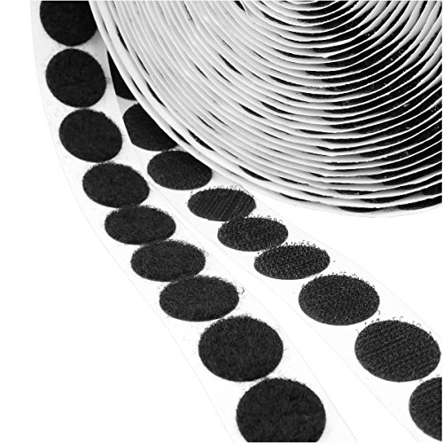 (Hook & Loop Self Adhesive Fastener Coins 1