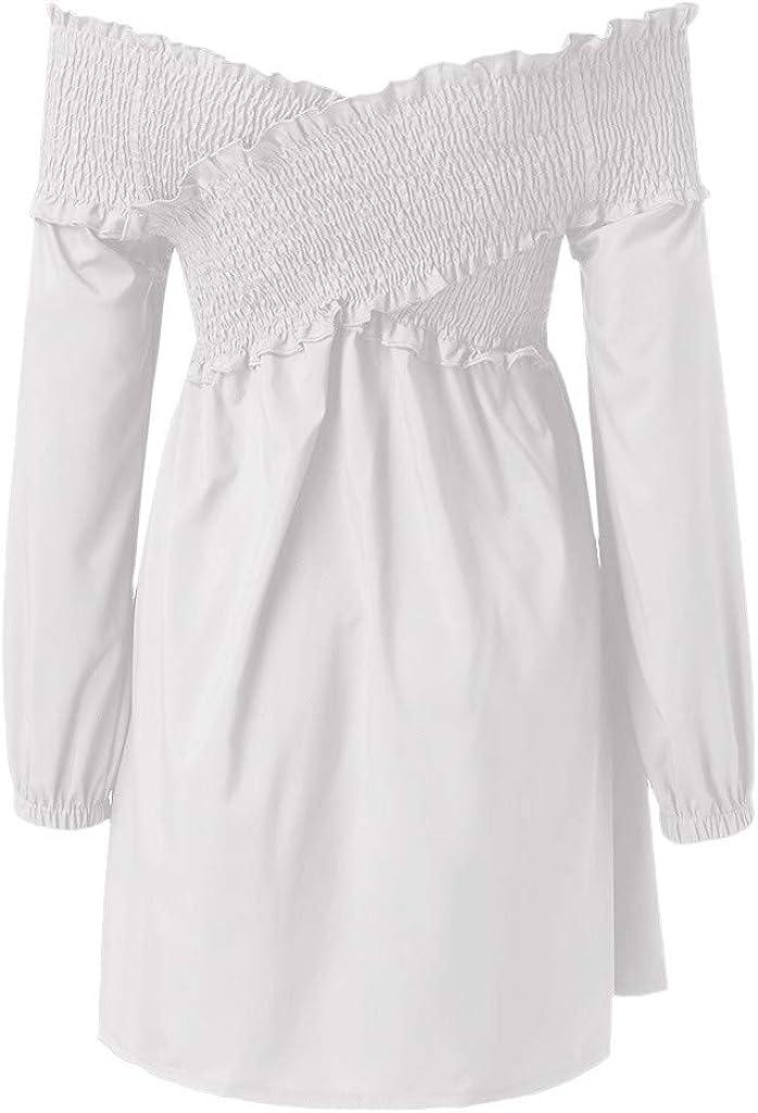 Amazon.com: gyoume para mujer Mini vestido ceremonia de ...