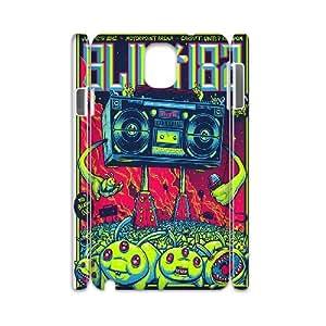 3D BLINK 182 Cartoon Samsung Galaxy Note 3 Case, [White]