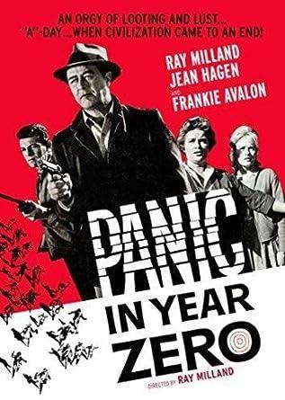 Amazon Com Panic In Year Zero Ray Milland Jean Hagen Frankie