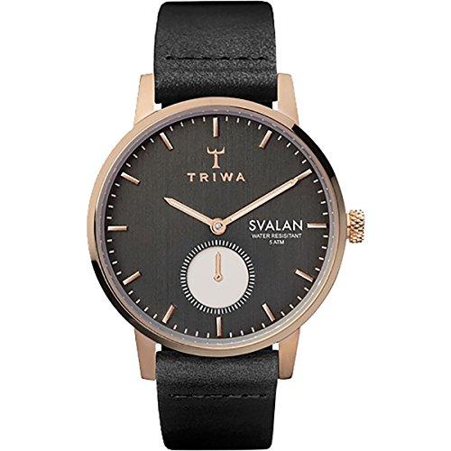 Triwa Svalan Watch - Women's Noir Svalan/Black Classic Super Slim, One Size