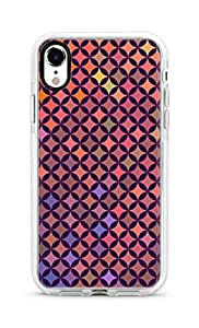 Stylizedd iPhone XR Cover Impact Pro White Military Grade Shockproof Case - Wall Of Diamonds Full