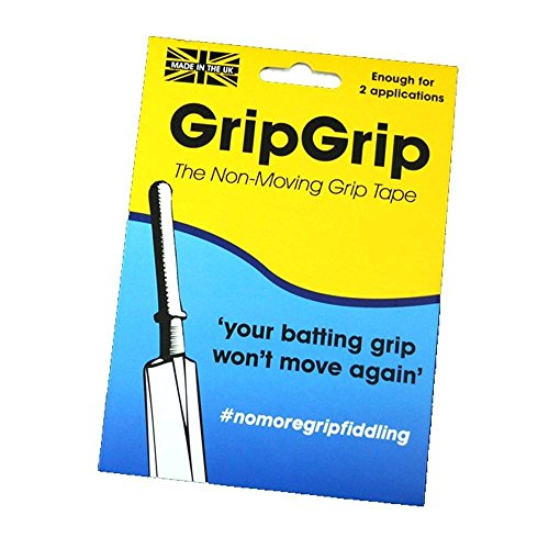 GripGrip Non-Moving Grip Tape Strips (for Cricket Bats) Bat Griptape