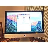 Apple IMAC MB953LL/A   All in One 27-inch Desktop (Intel Core i5, 8 GB 1066 MHz DDR3 SDRAM, 1TB Serial ATA Drive)