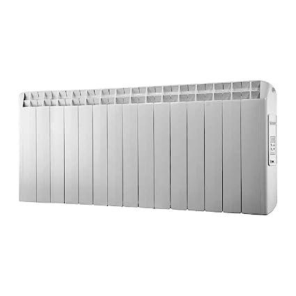 farho XP - Radiador Eléctrico de bajo Consumo 1650 W, Digital Programable y opción WiFi