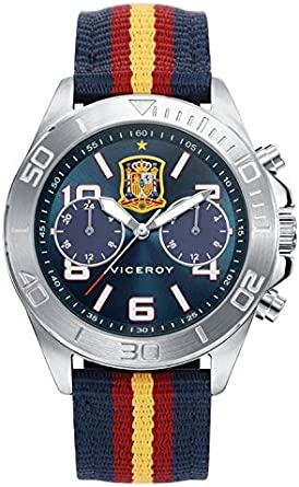 VICEROY S.ESPAÑA FUTBOL MULTIFUNCION: Amazon.es: Relojes