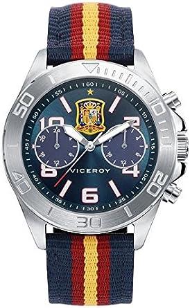 Reloj Viceroy Selección Española 42225-35 + Gorra de Regalo: Amazon.es: Relojes