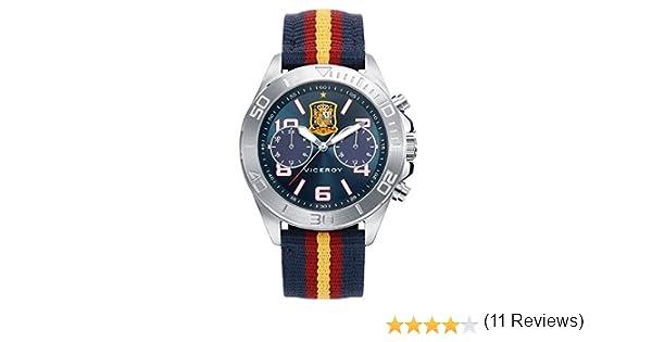 VICEROY S.ESPAÑA FUTBOL MULTIFUNCION: Amazon.es: Relojes