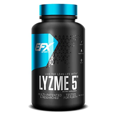 EFX Sports LYZME5 Weight Loss Supplement Energy, Thermogenic, Focus