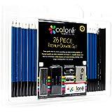 Colore 26 Piece Drawing Pencils Set