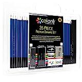 #1: Colore 26 Piece Drawing Pencils Set