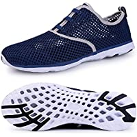 Water Shoes for Men Quick Drying Aqua Shoes Athletic Sport Lightweight Walking Shoes