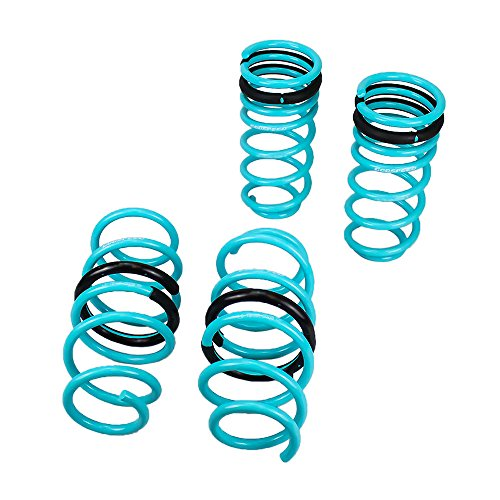 Godspeed(LS-TS-HA-0008) Traction-S Performance Lowering Springs, Reduce Body Roll, Improve Steering Response, Set of 4