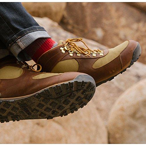 Danner Jag Bruin / Kaki 4,5 Enige Lifestyle Schoenen | Waterdichte Wandelzool Retro Wafel