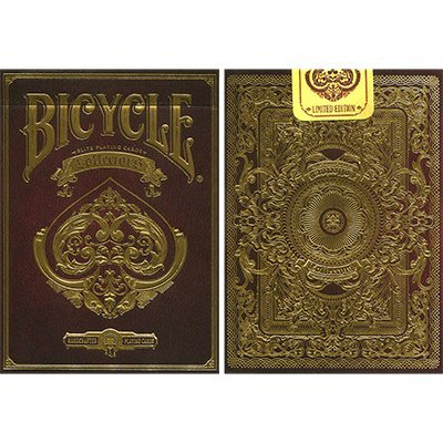 Bicycle Collectors Deck by Elite Playing Cards, Extravagantes Pokerspiel in Top Qualität