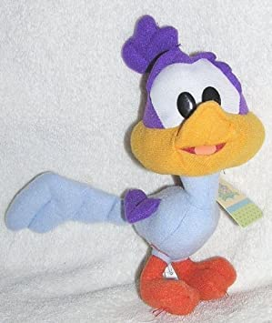 Baby Looney Tunes 7quot Stuffed Plush Road Runner Doll