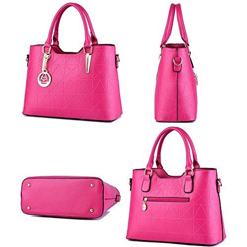 Hombro Multifunción Women Bolso Soft Bag De Borgoña Ruiren Portable xU6PC07q6n