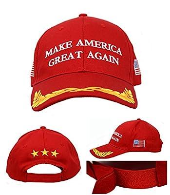 BIBITIME Trump Make America Great Again Hats US Flag Cap Embroidered Casquette