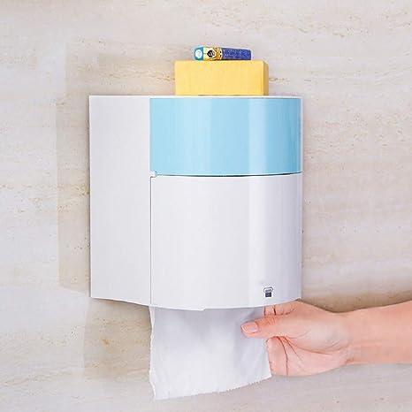 WFL Caja de pañuelos Impermeable para Perforaciones de baño Gratis, Porta Toallas de Cocina de