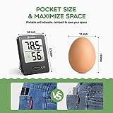 Habor Humidity Meter Room Thermometer, Mini