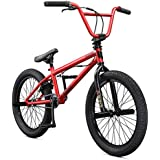 "Mongoose Legion L20 20"" Freestyle BMX Bike, Red"