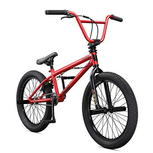 Mongoose Legion L20 20' Freestyle BMX Bike, Red