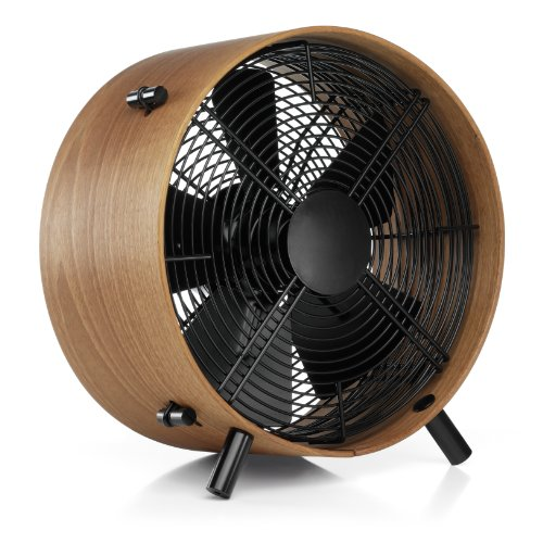 3-Speed Fan in Handcrafted Sapele Wood