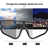 ROCKBROS CATEYE Photochromic Sunglasses for Men