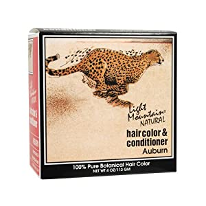 Light Mountain Natural Hair Color and Conditioner Auburn - 4 fl oz , Light Mountain , Hair Coloring, Health & Beauty