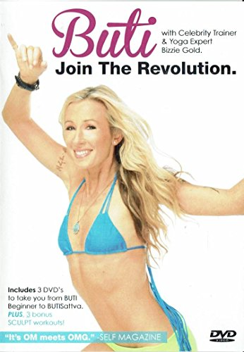 Buti Join the Revolution with Bizzie Gold Yoga 3 DVD Set
