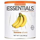 Emergency Essentials Freeze Dried Banana Slices - 16 oz