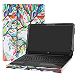 Alapmk Protective Case Cover For 15.6' HP Notebook 15 15-daXXXX (Such as 15-DA0012DX)/15-dbXXXX (Such as 15-DB0011DX 15-DB0010NR) Laptop[Not fit 15-bsXXX/15-bwXXX/15-acXXX/15-ayXXX],Love Tree