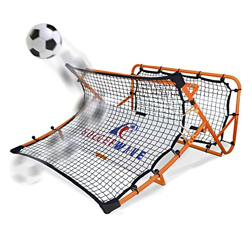 Soccer Rebounder Net by Soccer Wave | SoccerWave Jr. 2 in 1 - Import It All
