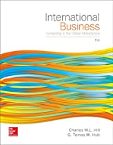 Book International Business: Competing in the Global Marketplace T.X.T
