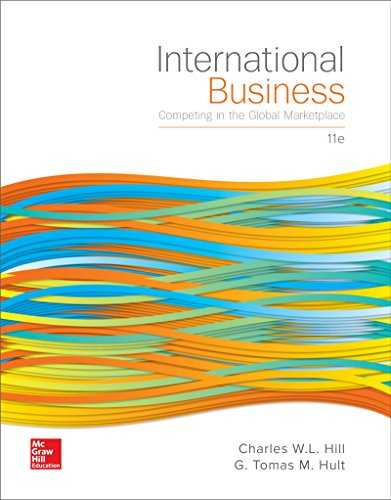 1259578119 - International Business: Competing in the Global Marketplace