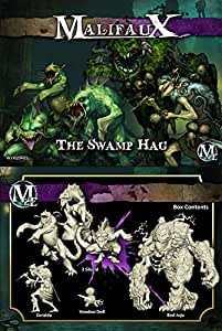 Malifaux 2E Neverborn The Swamp Hag (6 figures, WYR20403) by Wyrd Miniatures