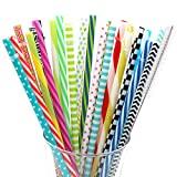 BESU 25 Pieces Reusable Straws Fit for 20 OZ 30 OZ Tumbler Mason Jar with Cleaning Brush(9 Inch and 10.5 Inch)