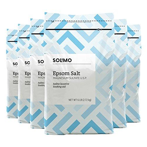 o Epsom Salt Soaking Aid, 6 Pound (Pack of 6) ()