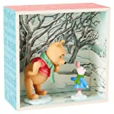 Hallmark Winnie the Pooh and Piglet in Snow Shadow Box