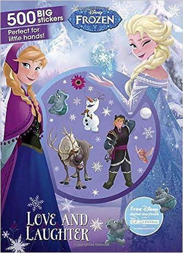 Disney Frozen Love And Laughter 500 Big Stickers Amazoncouk Parragon Books Ltd 9781474870221