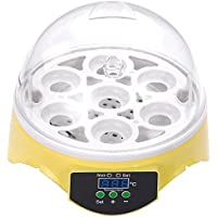 Digital Clear 7 Bird Egg Mini Incubator Built-in Fan