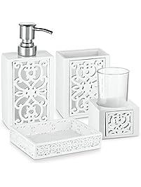 Shop Amazon Com Bathroom Accessory Sets