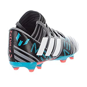 adidas Performance Boys' Nemeziz Messi 17.3 FG J,Grey/White/Core Black,6 M US Big Kid
