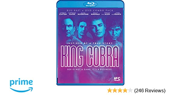 Amazoncom King Cobra Bluraydvd Combo Blu Ray James Franco
