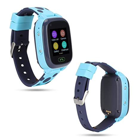 Pomya Reloj Inteligente para niños Bluetooth 4G Red Completa WiFi ...