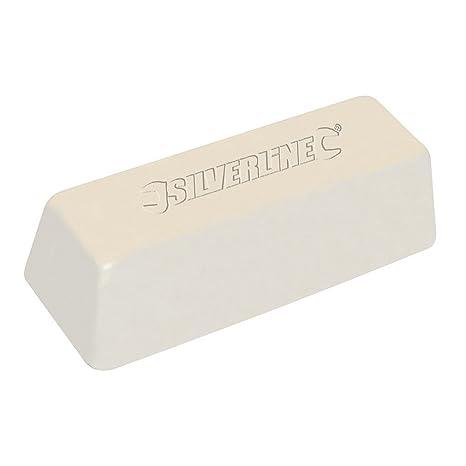 Silverline 107874 - Pasta para pulir de color blanco (500 g)