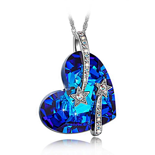 LadyColour-Venus-Shooting-Star-Engraved-Bermuda-Blue-Heart-Pendant-Necklace-Made-With-Swarovski-Crystals