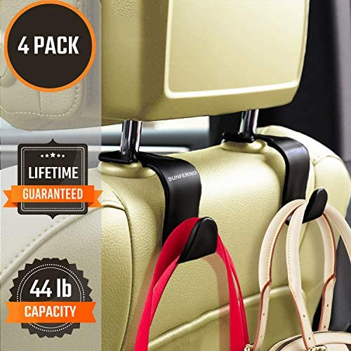Sunferno Headrest Hooks Pack Exceptionally product image